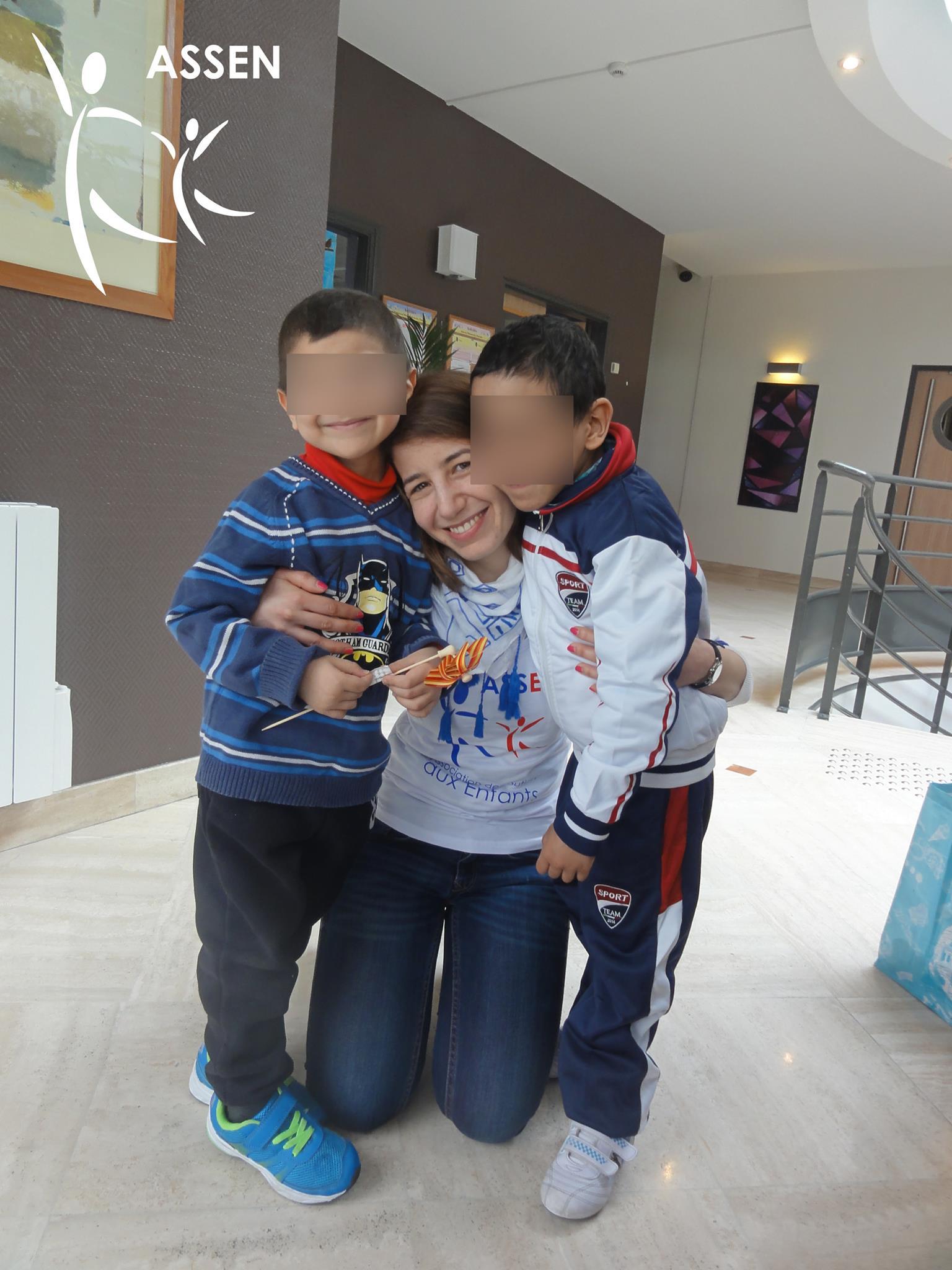 Enfants malades de cancer