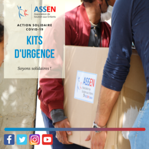 Action Solidaire COVID-19 – ASSEN continue d'agir en Tunisie